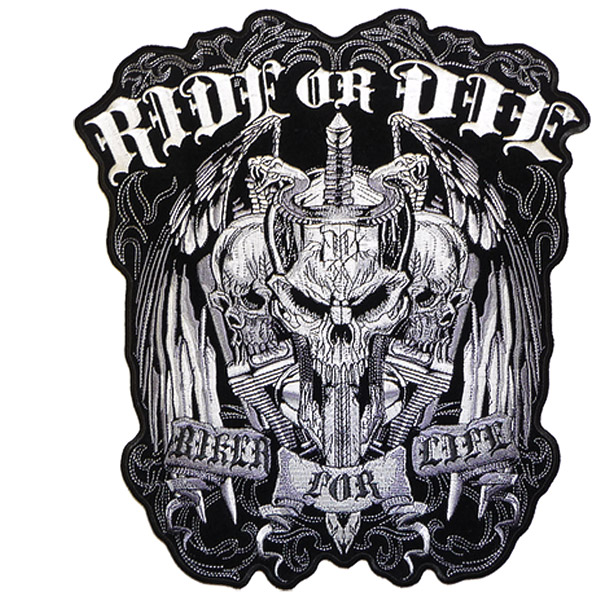 Hot Leathers Ride Or Die Patch