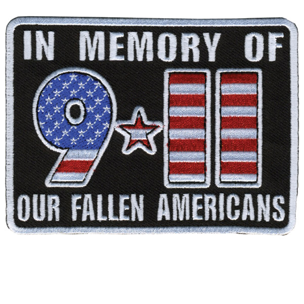 Hot Leathers In Memory 911 Patch