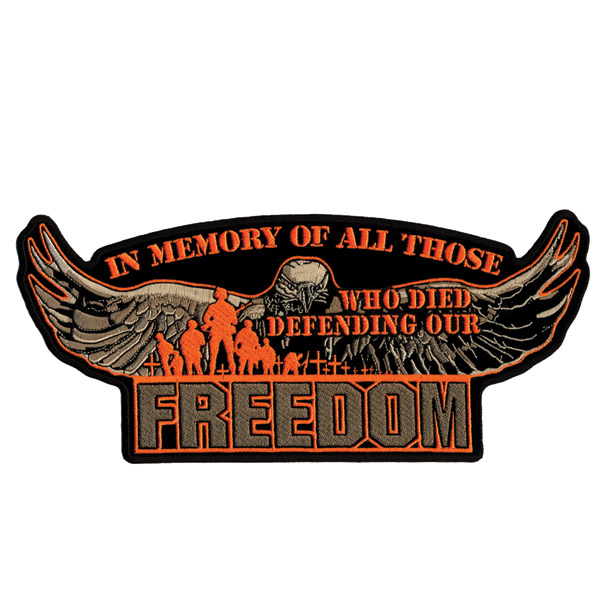 Hot Leathers Defending Our Freedom Patch