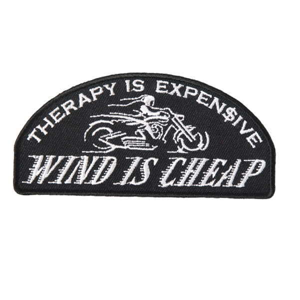 Hot Leathers Wind Is Cheap Patch