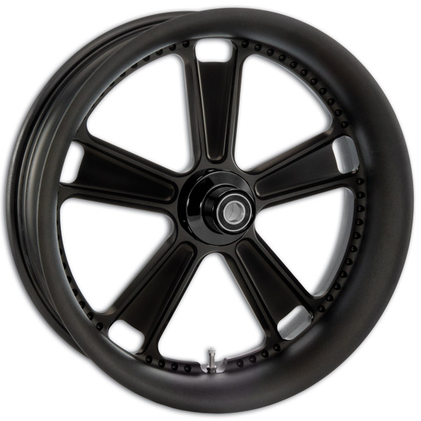 Roland Sands Design Black Ops Judge Front Wheel, 21″ x 2.15″