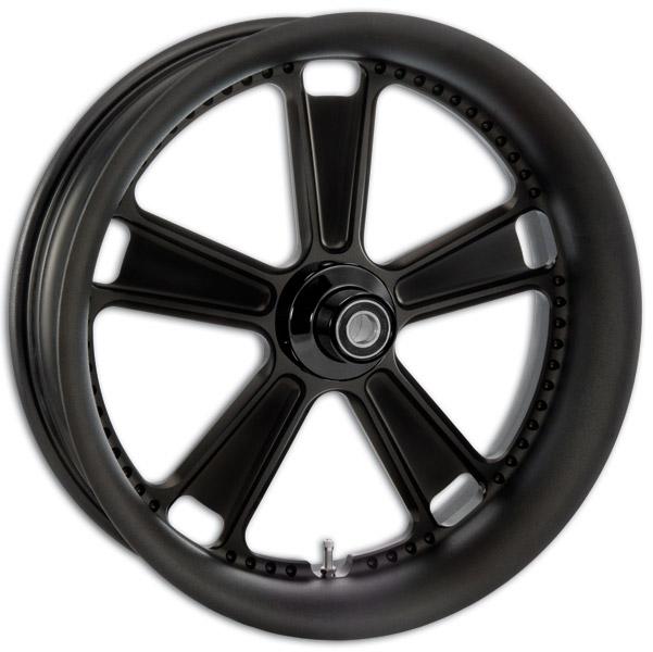 Roland Sands Design Black Ops Judge Front Wheel, 21″ x 3.5″