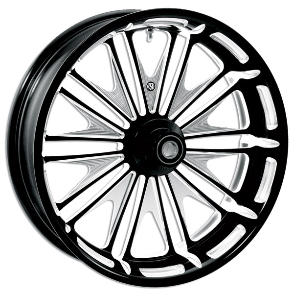 Roland Sands Design Contrast Cut Boss Front Wheel, 18″ x 3.5″