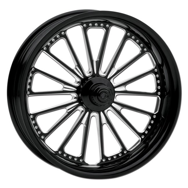 Roland Sands Design Contrast Cut Domino Rear Wheel, 18″ x 5.5″
