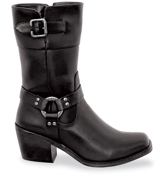 Milwaukee Motorcycle Clothing Co. Ladies Carma Riding Boots