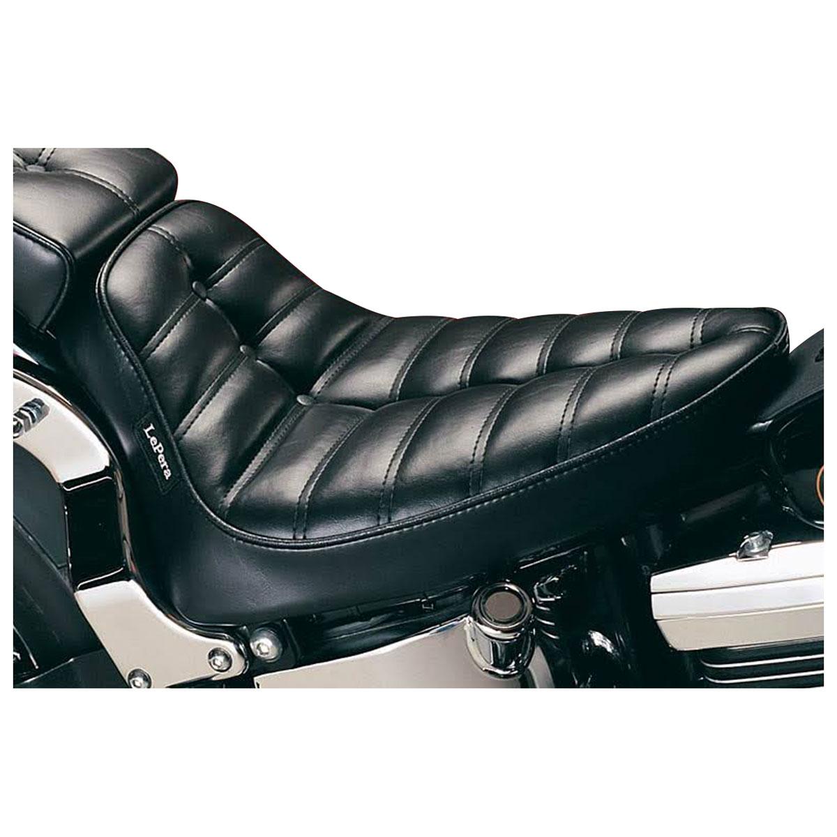 Le Pera Cobra Button Pleated Solo Seat