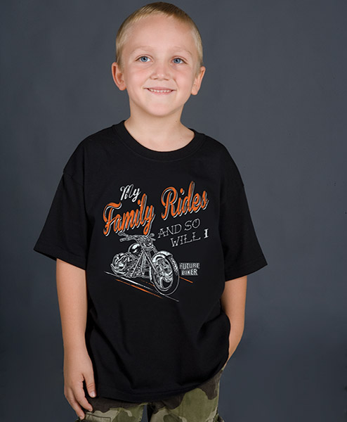 J&P Cycles® My Family Rides T-shirt