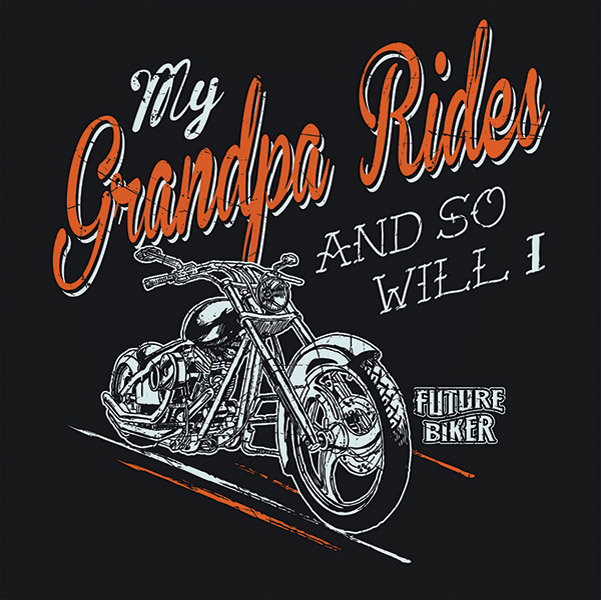 J&P Cycles® My Grandpa Rides T-shirt