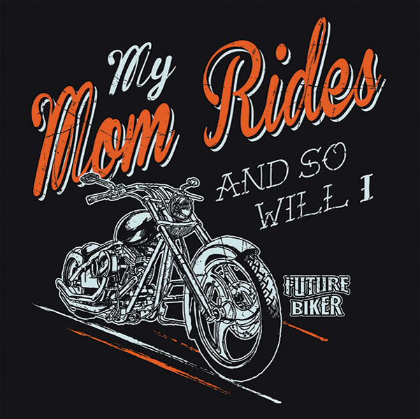 J&P Cycles® My Mom Rides T-shirt