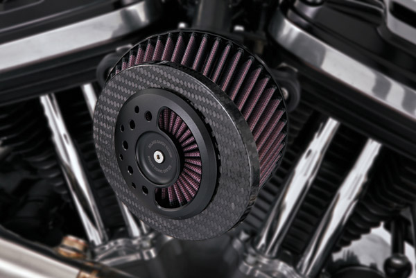 Roland Sands Design Slant Carbon Fiber Air Intake Kit