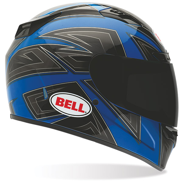 Bell Vortex Flack Blue Full Face Helmet