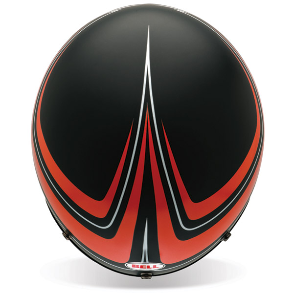 Bell Custom 500 Panel Orange 3/4 Open Face Helmet
