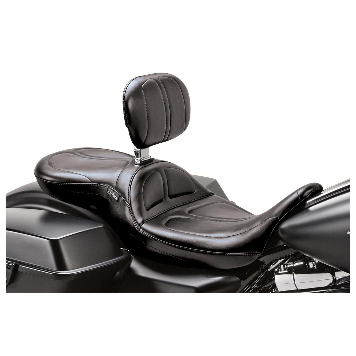 Le Pera Maverick Stitch 2-Up Seat with Driver Backrest