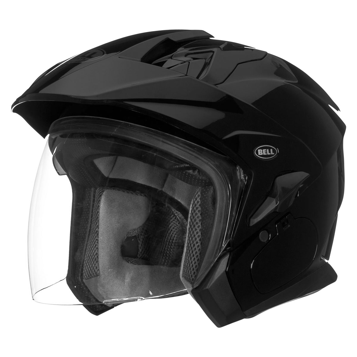 Bell Mag-9 Black Open Face Helmet