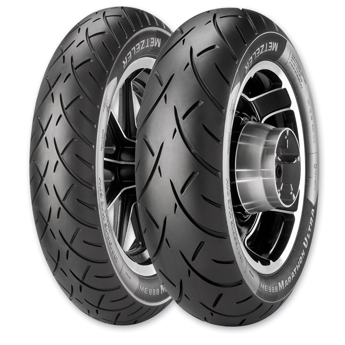 Metzeler ME888 MU85B16 Rear Tire