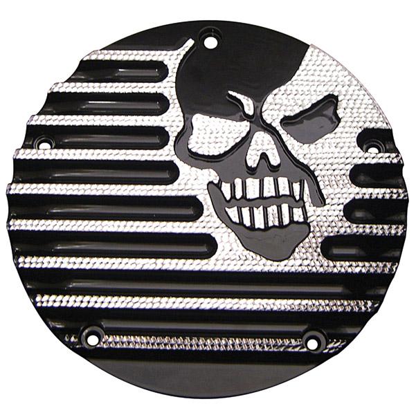 Covingtons Customs Machine Head Black Diamond Edge Derby Cover