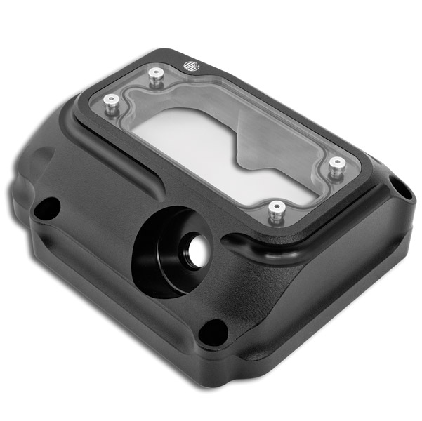Roland Sands Design Black Ops Clarity Transmission Top Cover