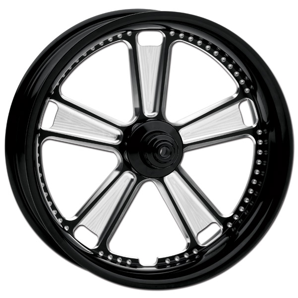 Roland Sands Design Judge Contrast Cut Rear Wheel with ABS, 18
