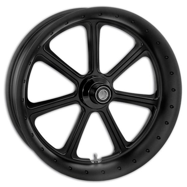 Roland Sands Design Diesel Black Ops Front Wheel with ABS, 23