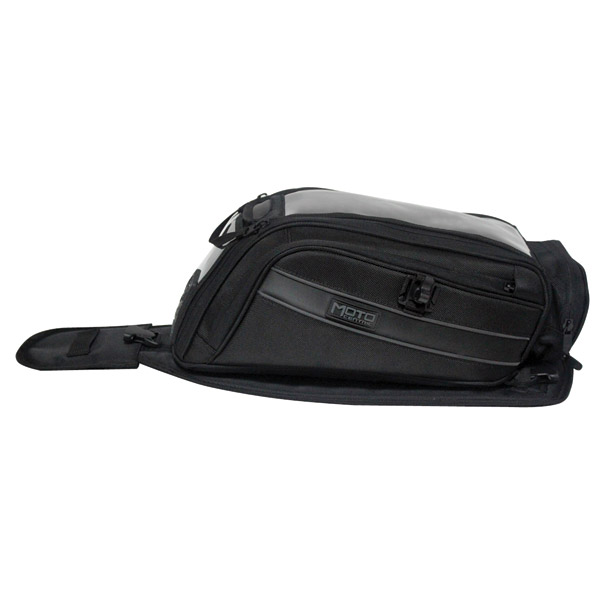 MotoCentric Mototrek 19 Tank Bag with Strap Base