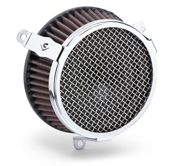 Cobra Air Cleaner : Cobra powrflo air cleaner kit chrome round j p