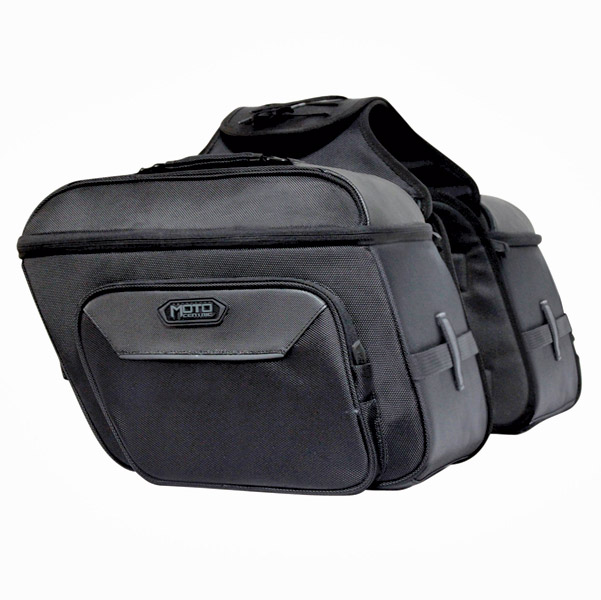 MotoCentric Slanted Cruiser Saddlebags