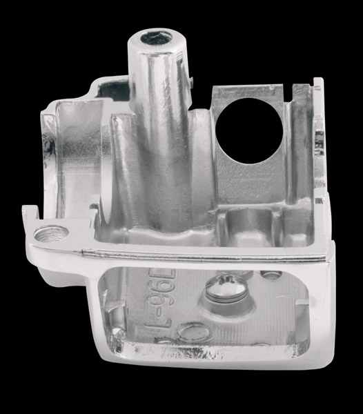 Drag Specialties Chrome Radiused Lower Right Side Switch Housing