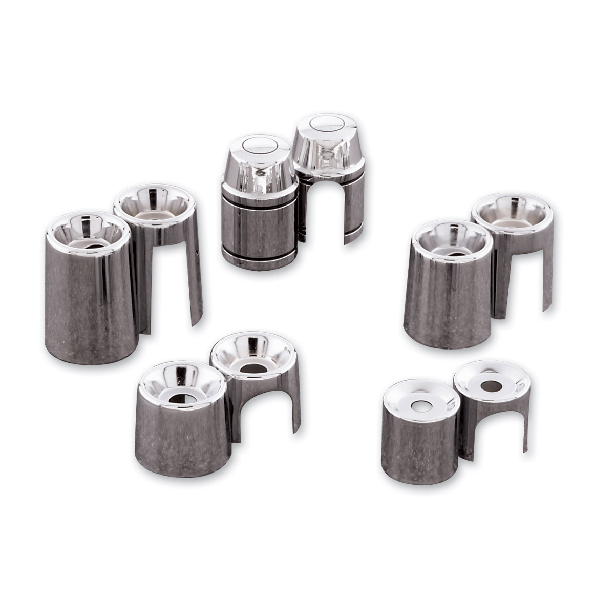 V-Twin Manufacturing Shock Stud Covers