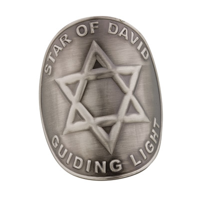 DC Medallions Star of David - Guiding Light Medallion