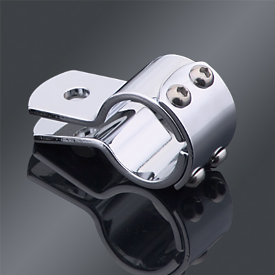 1″ Three-Piece Chrome Frame Clamp