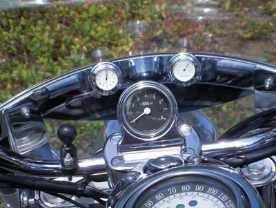 Riders Passion Windshield Mount White Thermometer