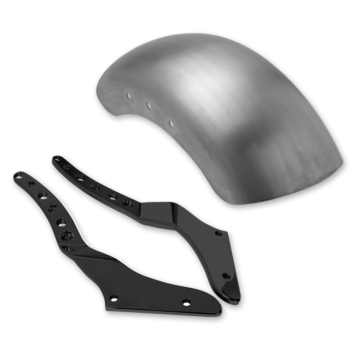 Roland Sands Design Black Tracker Rear Fender Conversion Kit