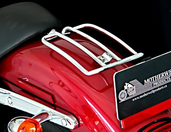 Motherwell Solo Seat Luggage Rack for Sportster