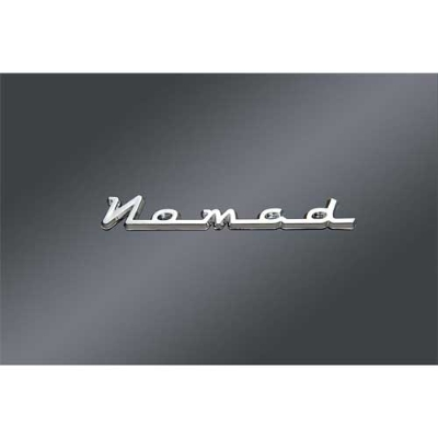 Nomad Fender and Saddlebag Emblem