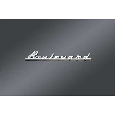 Boulevard Fender and Saddlebag Emblem