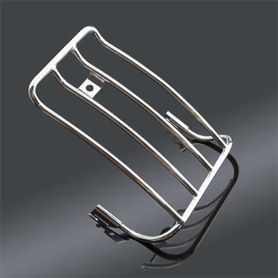 Biker's Choice Chrome Luggage Rack for Solo Seat