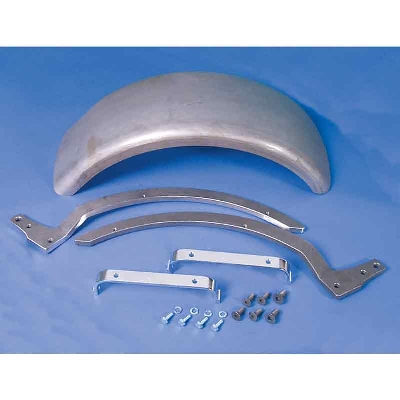 9″ Wide Flat Rear Fender Kit
