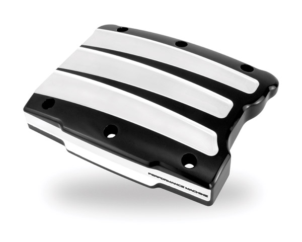 Performance Machine Scallop Contrast Cut Platinum Rocker Cover