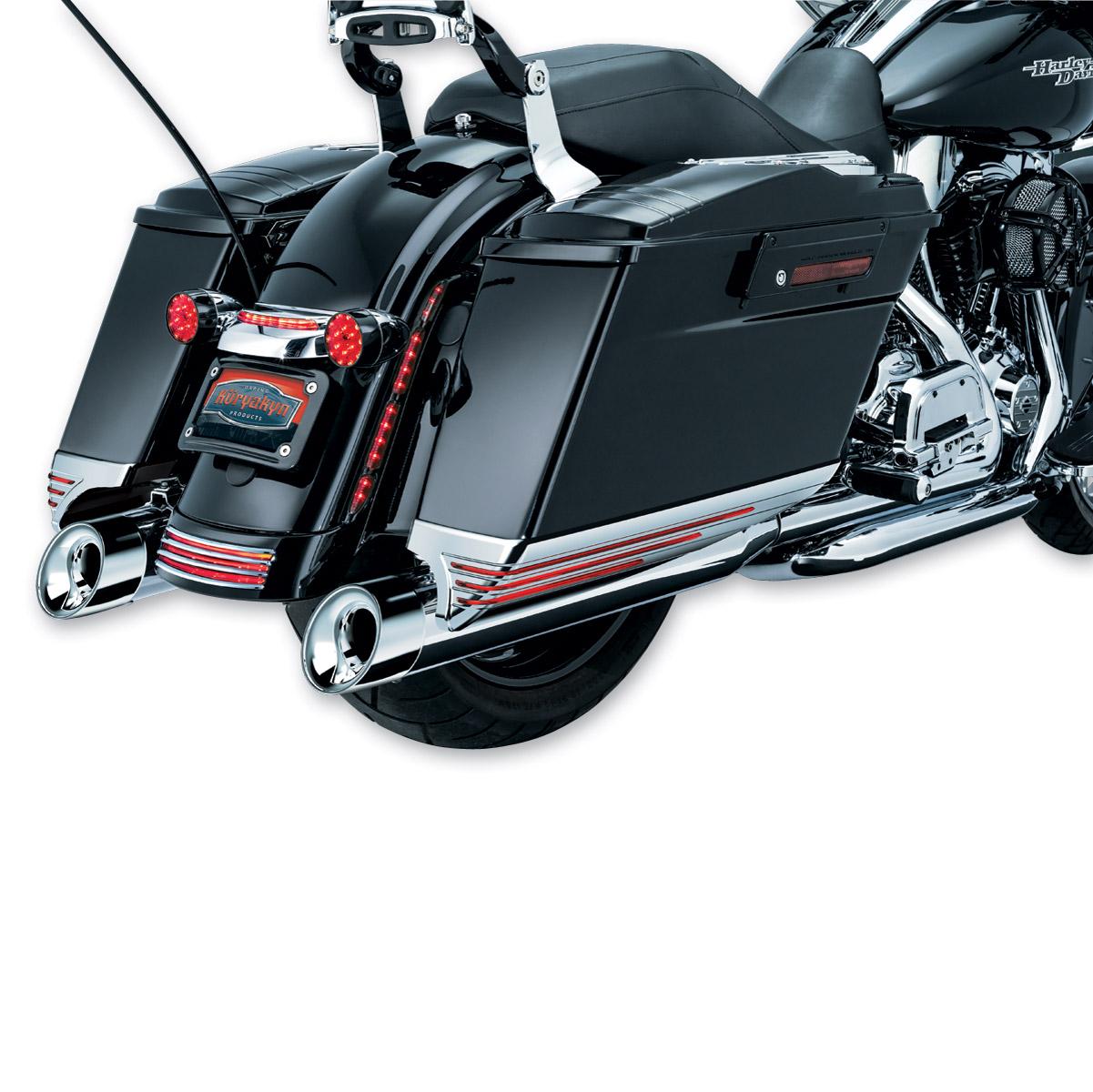 Harley-Davidson Saddlebag Extensions | J&P Cycles