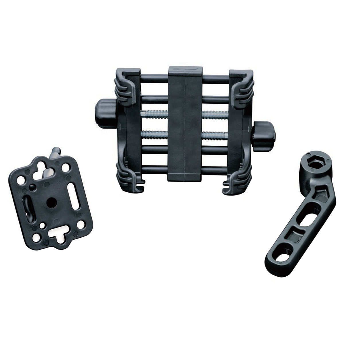 Kuryakyn Large Tech-Connect Kit for Cell Phone Mount on Clutch or Brake Perch Mount