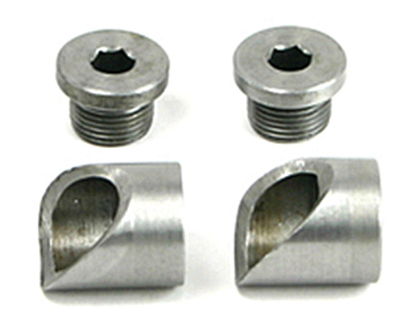 ThunderMax Weld-in Angled Oxygen Senor Bung with Cap