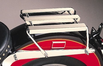 J&P Cycles® Chrome Luggage Rack