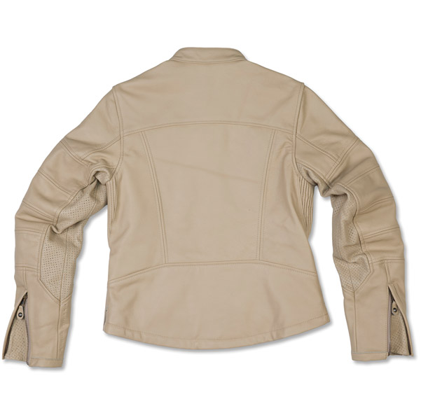 Roland Sands Design Women's Maven Cream Leather Jacket