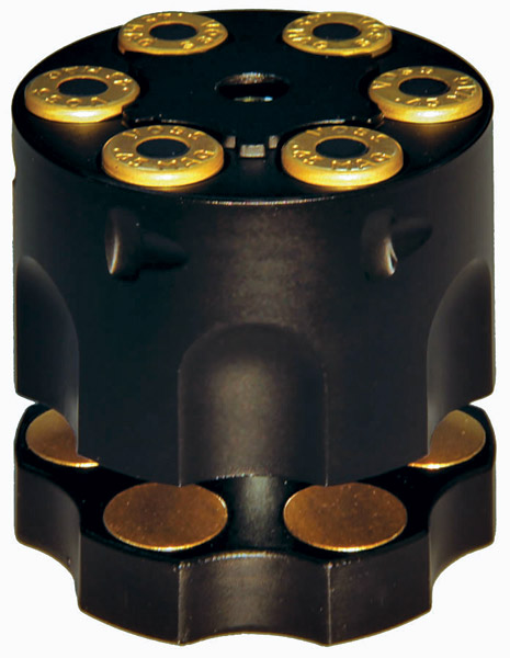 Deemeed Six Shooter Matte Black Disc Lock