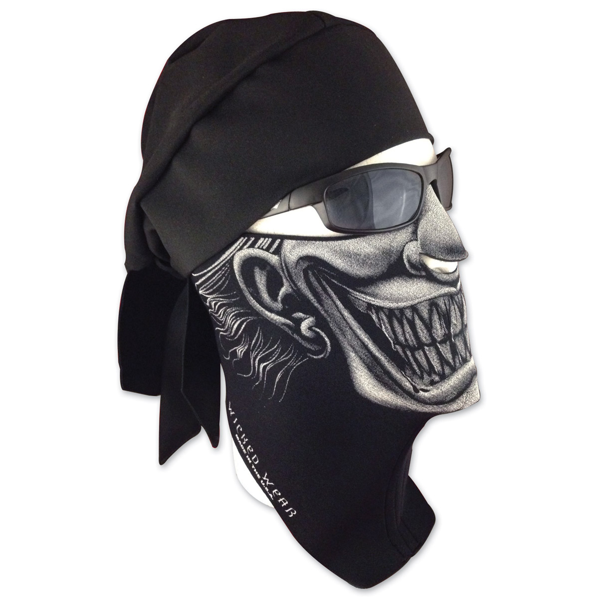 Wicked Wear Clown X-tremely Cool Weather Half Mask