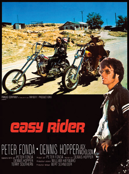Easy Rider Foreign Movie Poster