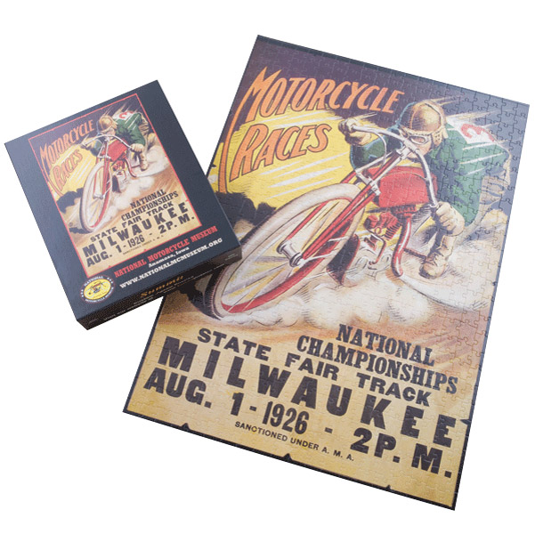 Milwaukee Mile Poster Puzzle