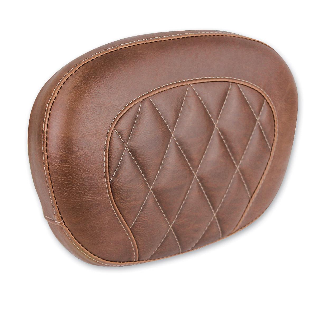Mustang Brown Diamond Stitch Sissy Bar Pad