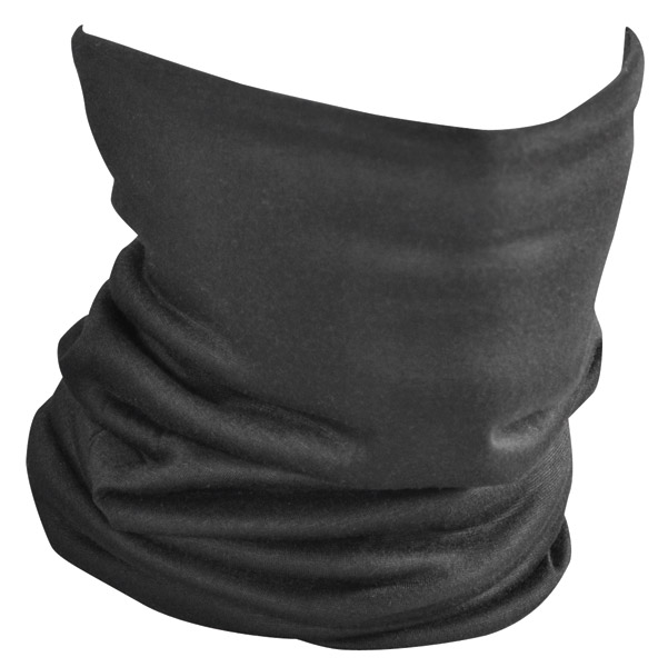 ZAN headgear Fleece Lined Black Motley Tube