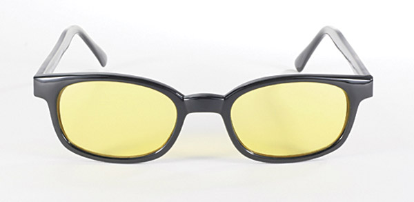 X-KD's Sunglasses with Yellow Lens